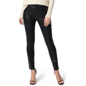 Joe's Charlie Coated High-Waisted Skinny Jeans